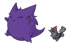 Follow the Gengar by styrecat