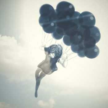 Parachute by chopinsdaughter