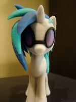 DJ Pon-3 3D-printed figure front by markv12