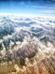Himalayas through the windows of Boeing 777 by Sabrix-Winefield