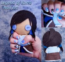 Legend of Korra Nail Art by Demi-Plum