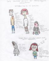 new characters for new comic by jiakko