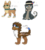 Auction Adoptables [ENDED] by makashy
