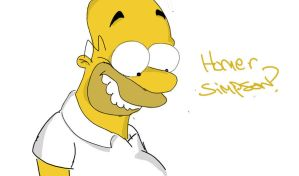 Homer by DrawingDogProduction by The-Simpsons-Fanclub