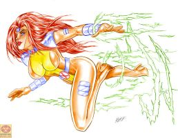 Jean Grey - Jim Lee Style by MrLively
