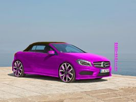 Mercedes A-Class Cabriolet by MOMOYAK by MOMOYAK