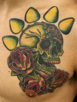 sugar skull by franknardi2