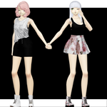 update - ume and anzu by NoUsernameIncluded