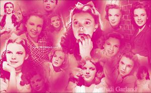 Judy Garland Wall O1 by Ruum