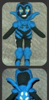 Blue Beetle Plushie by furrychaos