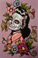Sugar Skull Grams by VanZanto