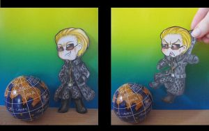 RE5 - Not This Time, Wesker by Horrortante
