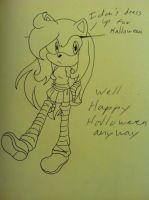 Alex says happy halloween....kinda by MagicalPouchOfMagic