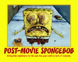 Post Movie Spongebob Demotivator by Shadow-DJ