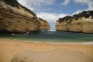 secluded beach, GOR, Australia by tamli
