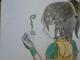 Toph Bei Fong by PhantomDawn
