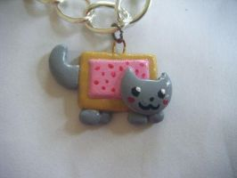 Nyan Cat Charm by KatKatDreamer95