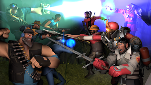 SFM - Whopping great big fight preview thing by Stormbadger