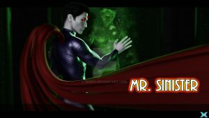 Mr. Sinister by 3DNDC