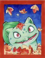 Bulbasaur Artwork by karookachoo