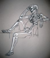 Skeleton study. by MonAmourMalade