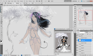 Water_Crystal WIP by Seraphoid