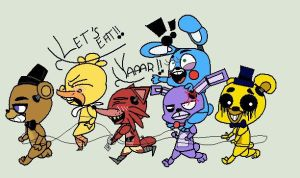 Five nights at Freddys's!! o3o by ARIAndYou