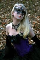 Purple Masquerade Stock by MariaAmanda