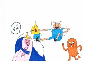 Adventure Time by Blue-eyed-girl-23