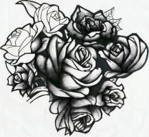 Roses Are Black by Evilrj