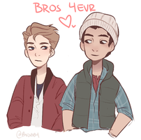 Nate and Josh by Boddbby