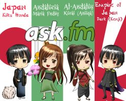 ASK! JapAnd and Dark!JapAnd - SEND YOUR QUESTIONS! by ArantxaCosplayer