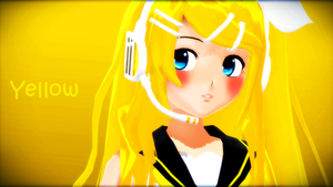 MMD - Yellooow by MissButtler