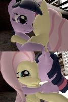 Its Ok Fluttershy...Im Here by RewIrken