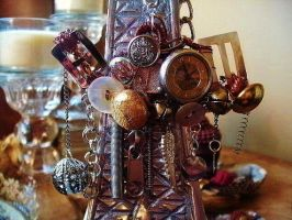 Steampunk Teapot Necklace by Endlessrecluse