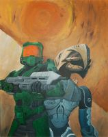 Halo 3 Painting by zilfana