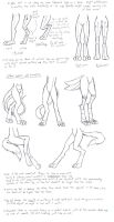 Anthro Leg Tutorial by VibrantEchoes