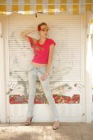 Girl in Jeans by CrowsReign-Stock