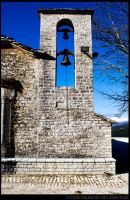 Stone Belfry I by ouranokatevatos