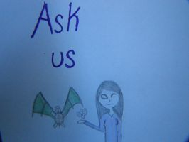 Ask or Dare us!! by That-turtle-Gurgle