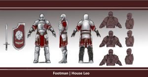 Footman | House Leo by L3monJuic3