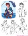 1740s Pirate Gangfield - October 2014 by The-Ez
