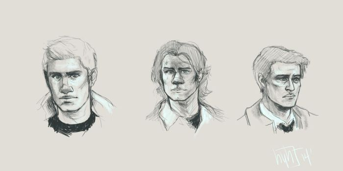 Supernatural Sketches by MohawkRainbow