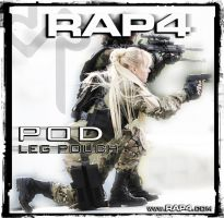 RAP4 POD Leg Pouch by RealActionPaintball
