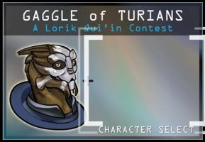 Gaggle of Turians Animated Banner by MoonEcho
