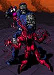 DARKSEID vs CARNAGE by Ragnaroker