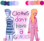 Clothes Don't Have a Gender by Natterbugg