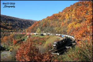 Horseshoe Curve by DragonWolfACe