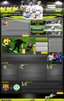 Sport AMiFooT Web InterFace by CoolDes