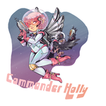 [G] Commander Holly by Poifish